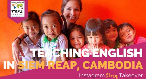 Day in the Life Teaching English in Siem Reap, Cambodia with Sarah Sanscrainte
