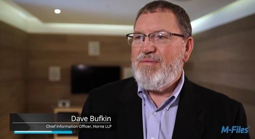 Customer Case Study Video: HORNE LLP