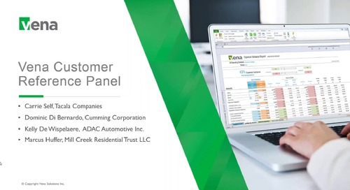 Vena Customer Reference Panel September 2018