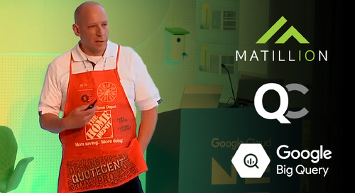 Learn how Home Depot modernized their data architecture with Matillion ETL for Google Big Query.