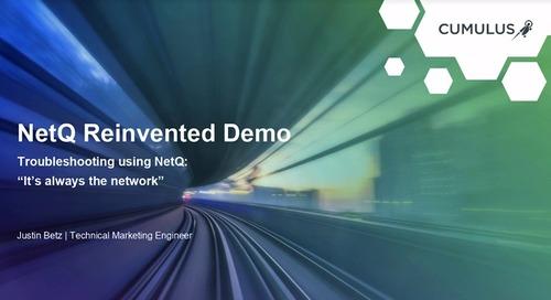 Webinar: NetQ 2.1 demo