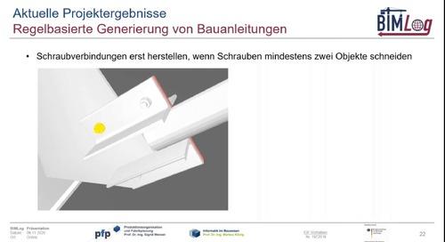 BIM-basierte Logistikplanung im Großanlagenbau