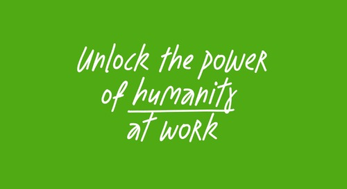 How can we unlock the power of humanity at work feat. Didier Elzinga