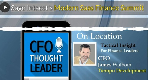 Measuring How Data Influences Outcomes | James Walbom, CFO, Tiempo Development