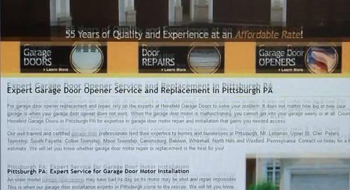 Henefeld Garage Doors: Lead Stream Review