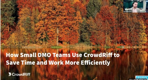 How Small DMO Teams Use CrowdRiff to Save Time and Work More efficiently