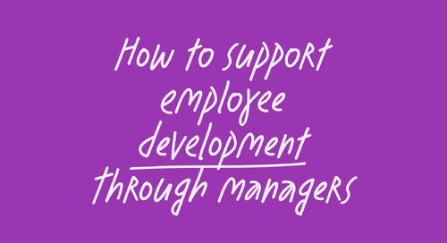 How to support employee development through managers feat. The ICONIC
