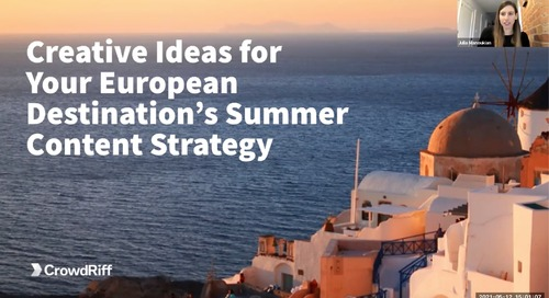 European DMO Summer Content Strategies - with Marketing Greece