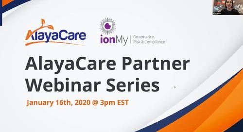ionMy - AlayaCare Partner Webinar