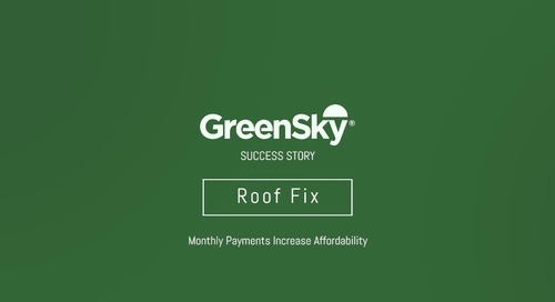 GreenSky® Success Story | Roof Fix - Part 2