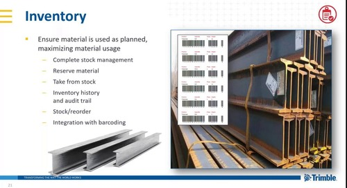 Truly Connected Steel Fabrication Management