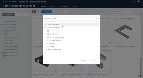 Copy files to a work in progress (WIP) folder