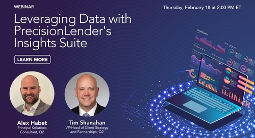 Leveraging Data with PrecisionLender's Insights Suite