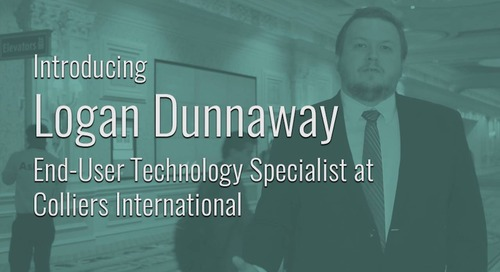 ServiceNow Success Story Featuring Logan Dunnaway, Colliers International
