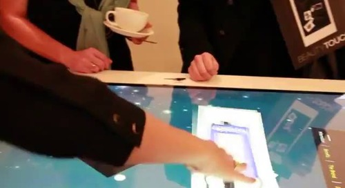MultiTaction Displays - BeautyTouch by digitact