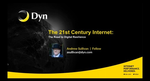 21st Century Internet - The Road to Digital Resilience
