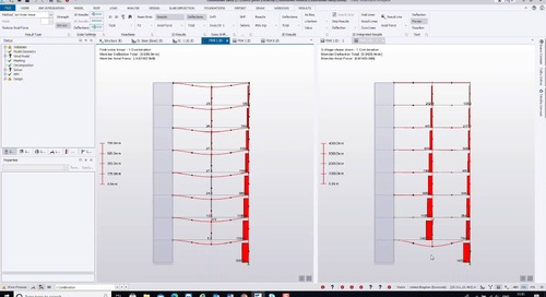 Different types of analysis that can be carried out in Tekla Structural Designer