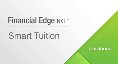 Financial Edge NXT™ and Blackbaud Tuition Management™ Demo