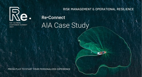 Re•Connect | Customer Case Study with AIA