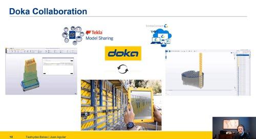 DOKA Takes BIM to the Next Level with Tekla Structures