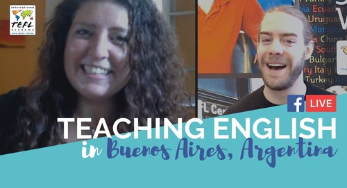 Teaching English in Buenos Aires, Argentina - It's Not Just For Millennials!