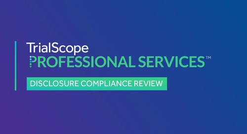 Advisory Services: Disclosure Compliance Review
