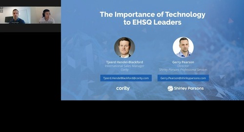 The Importance of Technology to EHSQ Leaders