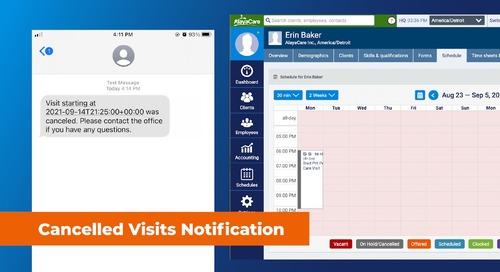 Visit Cancellation Notifications - Turn-key Integration Bundle