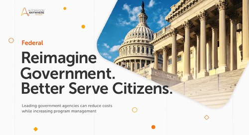 Reimagine Government Processes with Automation Anywhere RPA