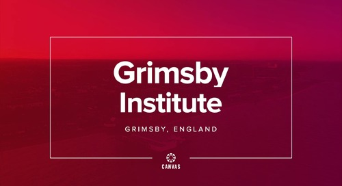Video: Grimsby Institute