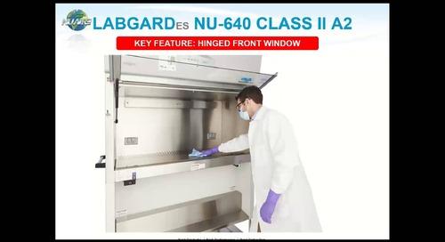 LabGard NU-640 Animal Handling Biosafety Cabinet Product Webinar