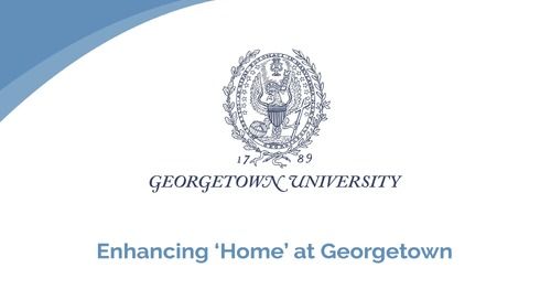 "Doug Little: Enhancing ""Home"" at Georgetown"