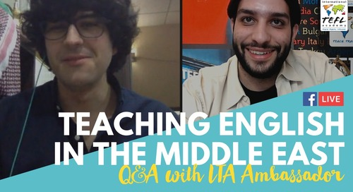 Teaching English in The Middle East with Adam Lucente