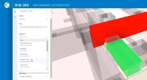 Navisworks to Issues Integration