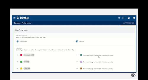Trimble Fleet Manager - Monitoring 2021-07-29
