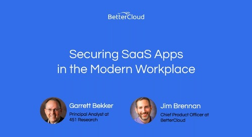 Securing SaaS Apps in the Modern Workplace