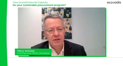 AkzoNobel on Building Internal Capacity for Sustainable Procurement Programs