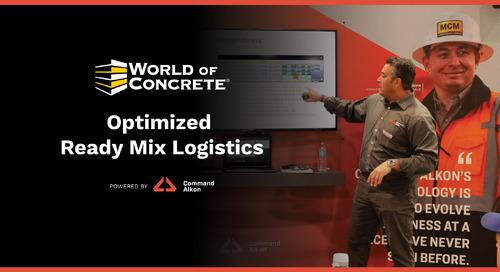 Optimized Ready Mix Logistics | WOC 2021