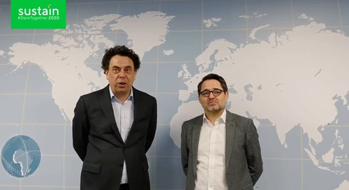 Fred and Pierre, EcoVadis CEOs, Welcome to Sustain 2020 [Virtual]
