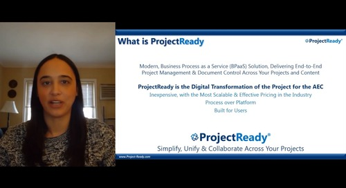 ProjectReady + BIM 360 Integration