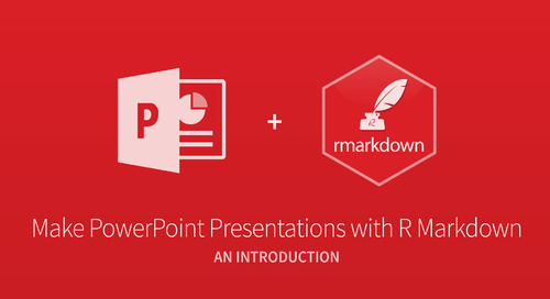 Make PowerPoint Presentations with R Markdown - Nathan Stephens