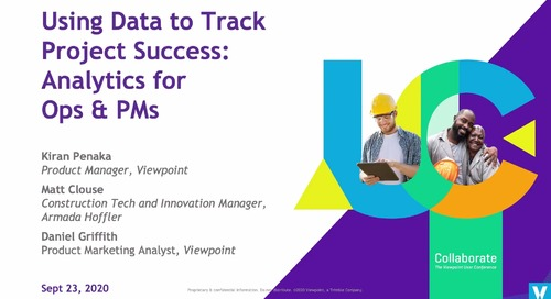 Using Data to Track Project Success: Analytics for Ops & PMs in Spectrum