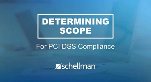 Determining Scope for PCI DSS Compliance