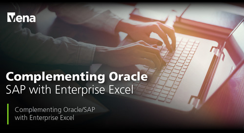 Complementing Oracle-SAP with Enterprise Excel