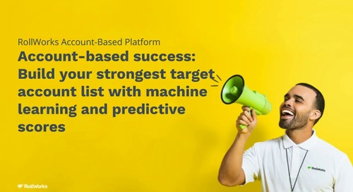 Building a Target Account List for Account-Based Success