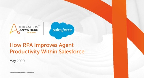 How RPA Improves Agent Productivity in Salesforce