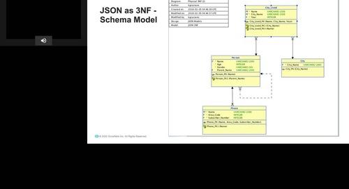 Webinar - Data Modelling in the Age of JSON