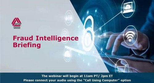 Fraud Intelligence Briefing for the Shared Branch Network- March 28, 2019