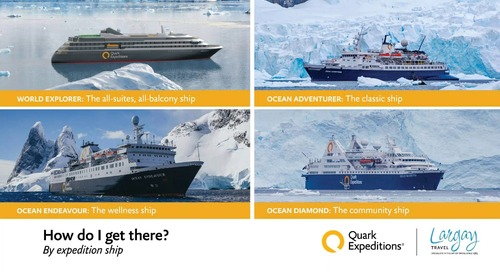 Largay Travel - A Quark Expeditions Antarctic Overview: Navigating Antarctica with your Clients
