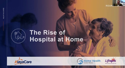 The rise of hospital at home